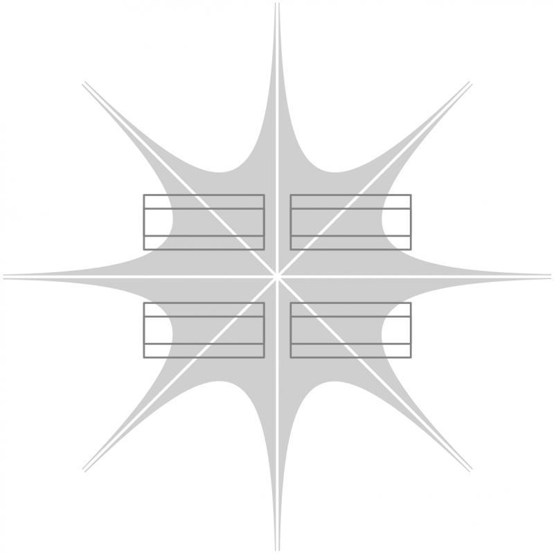 Sternzelt Static 100% Druck