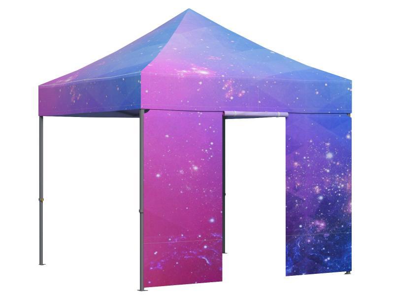 G+K Faltpavillon 3x3 Meter individuell bedruckt