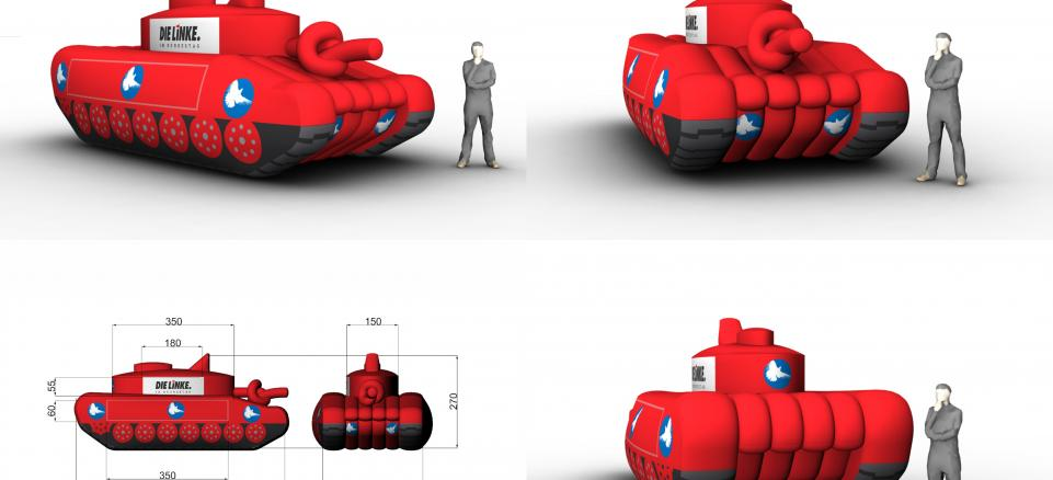 Ausblasbare Werbung, Inflatables